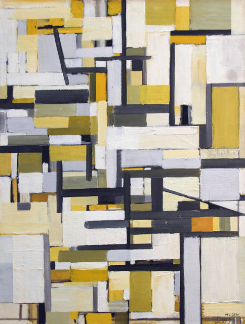 , 'Delineations in Space,' 1955, Anita Shapolsky Gallery