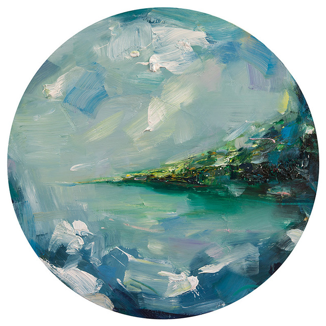 , 'Cloudy Landscape,' 2015, parts gallery