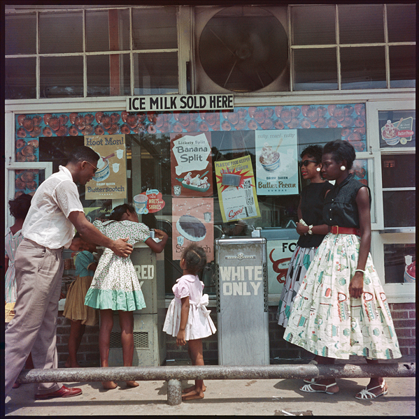 , 'At Segregated Drinking Fountain, Mobile, Alabama,' 1956, Jenkins Johnson Gallery