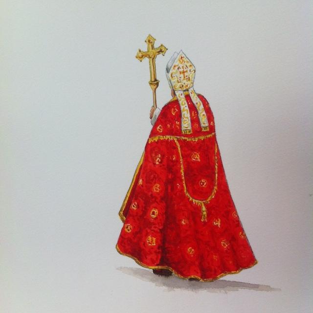 ", 'Série ""Sede Vacante"",' 2014, TramasGaleria de Arte"