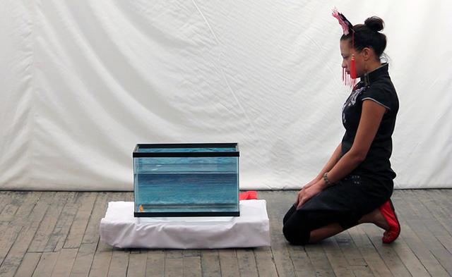 , 'Wo shi yi ge zi sun ,' 2013, Margaret Lanzetta