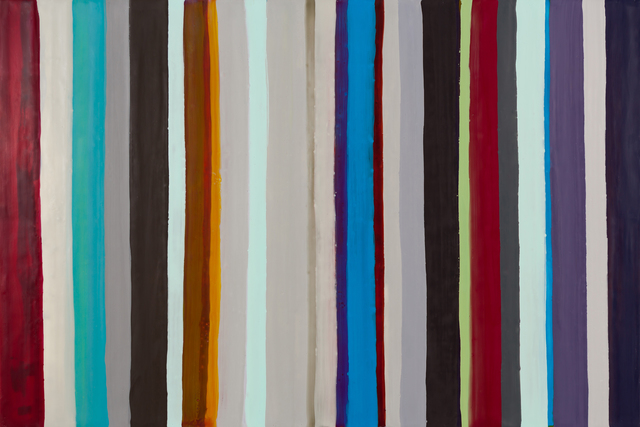 , 'The Hidden Life of Stripes 17,' 2017, Imlay Gallery