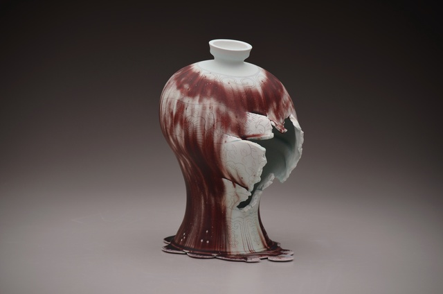, 'Maebyeong Vase with Mushroom Vine,' 2015, Duane Reed Gallery