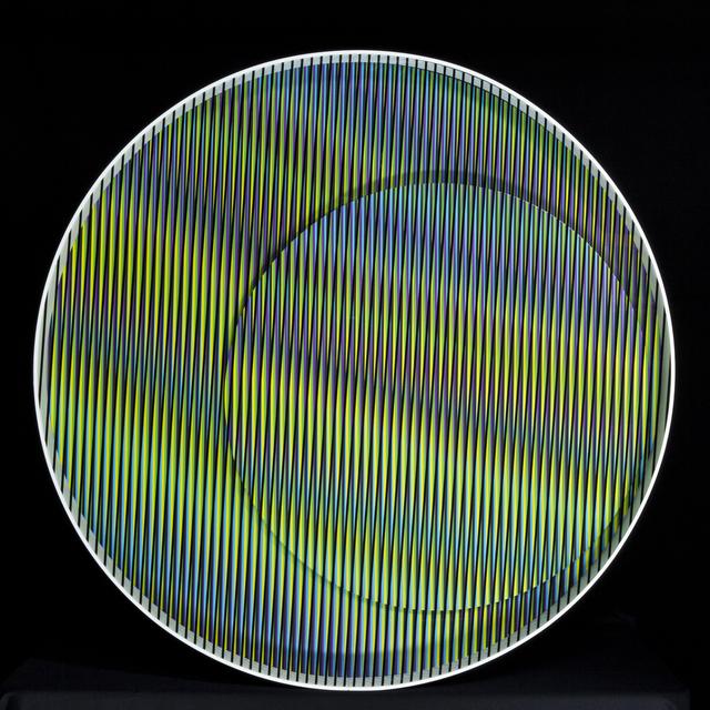 , 'Cromointerferencia Mecanica Nova 4,' 2016, Galería RGR