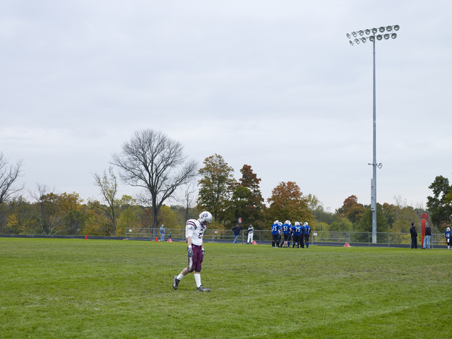 , 'Football Landscape #18 (Bexley vs. Academy, Columbus, OH),' 2009, Peder Lund