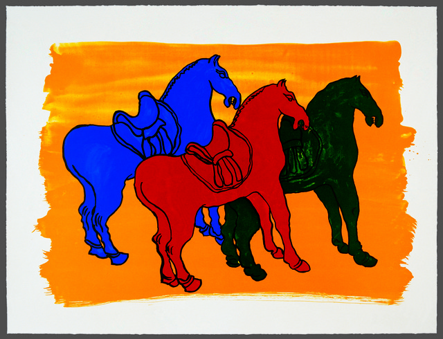 ", '""Ancient Chinese Horses"" For Parkett 52,' 1998, Parkett"