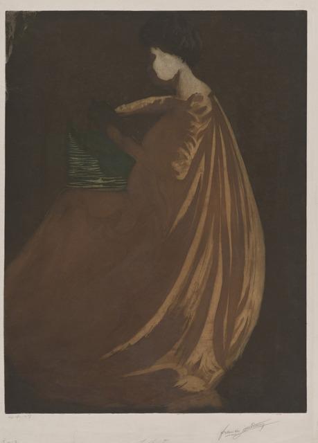 Francis Jourdain, 'La Lecture [The Reader]', ca. 1900, Hammer Museum