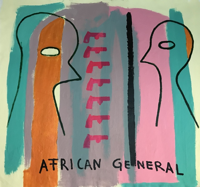 , 'African General,' 2018, MOVART