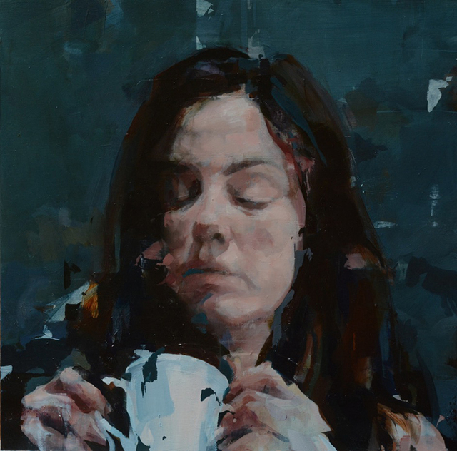 , 'K.B. with a Cup,' 2018, Dolby Chadwick Gallery
