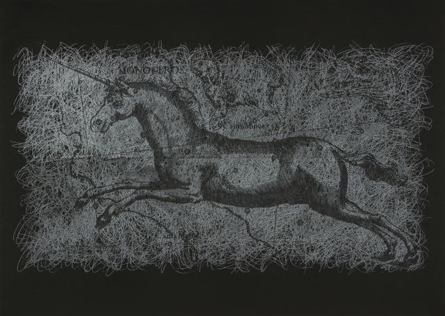 , 'Rastros Celestes. Unicornio ,' 2019, Nora Fisch