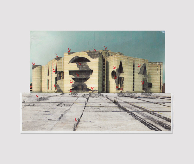 , 'Sin título (Ensayo para Louis Khan),' 2015, Proyecto Paralelo