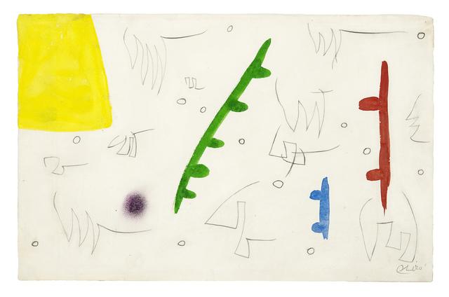 , 'Oiseaux dans un paysage,' 1976, Galerie Lelong & Co.