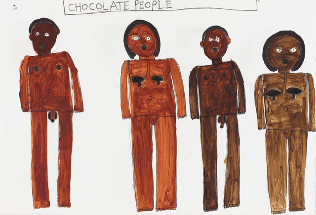 , 'Chocolate People,' 2016, Creativity Explored