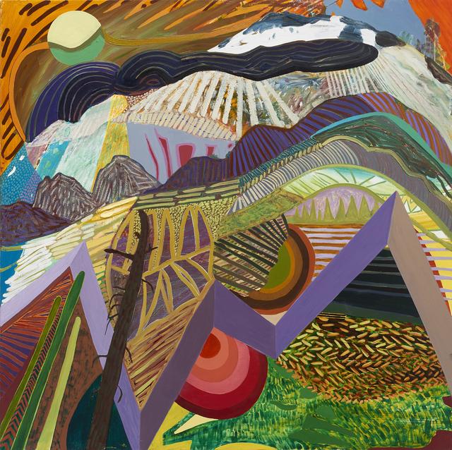 Karla Wozniak, 'Woven Peaks', 2016, Gregory Lind Gallery