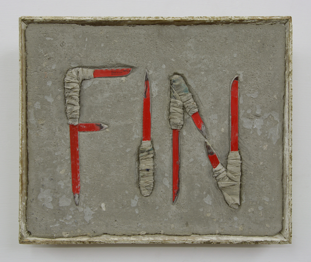 , 'END,' 2014, Arróniz Arte Contemporáneo
