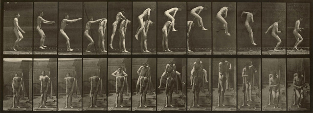 , 'Plate 166. Jumping over man's back (leap-frog),' 1887, Laurence Miller Gallery