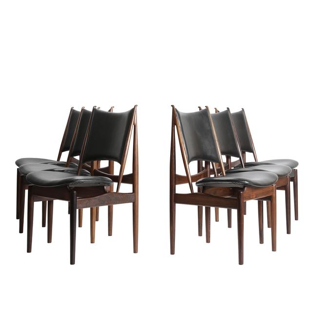 Finn Juhl, 'Set of 6 Egyptian Chairs', 1949, Dansk Møbelkunst Gallery
