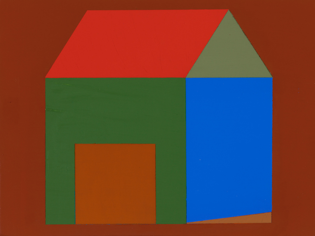 , 'Red Ochre House 1,' 2014, A.I.R. Gallery