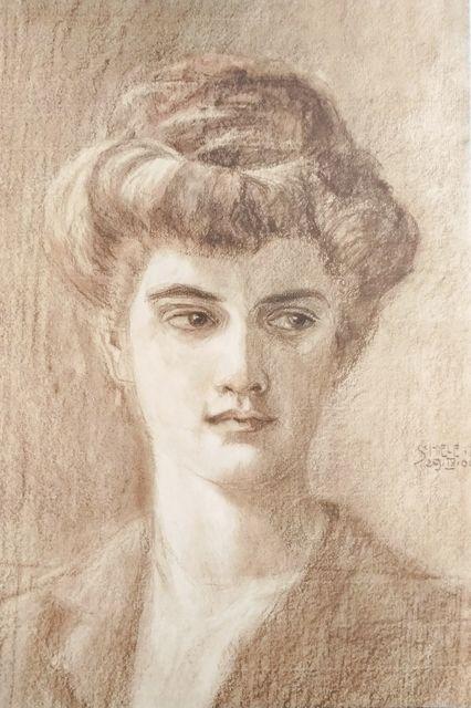 , 'Melanie Schiele,' 1990, Wallector