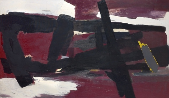 , 'Winter (Charcoal Red),' ca. 1960, Berry Campbell Gallery