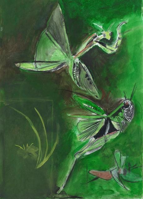 , 'Sauterelles,' 1974, Christopher Kingzett Fine Art