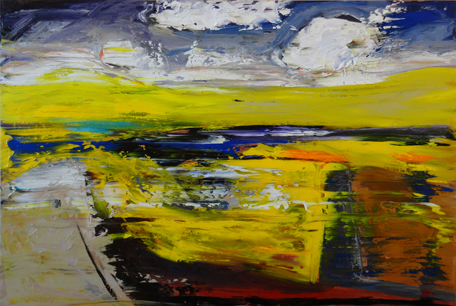 , 'Yellow Embellished,' 2016, The Front Gallery