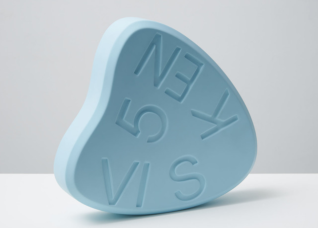 Damien Hirst, 'VISKEN 5 (Baby Blue)', 2014, Sculpture, Polyurethane resin with ink pigment.Numbered, signed and dated in the cast., Paul Stolper Gallery