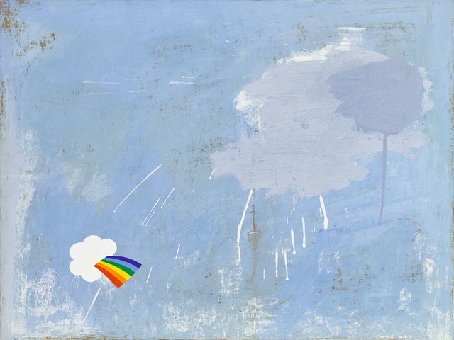 , 'Rainbow Sticker,' 2015, G. Gibson Gallery