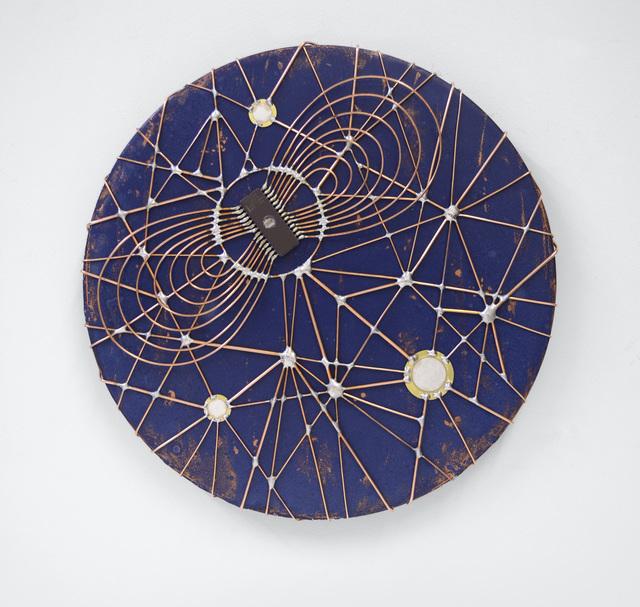 """, 'Microchip synapses 19 - """"Planitas"""",' 2015, The Flat - Massimo Carasi"""