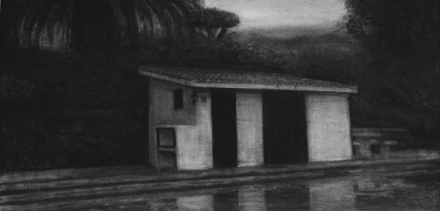 , 'Longing (Pool house) #1,' 2018, Galerie Ron Mandos