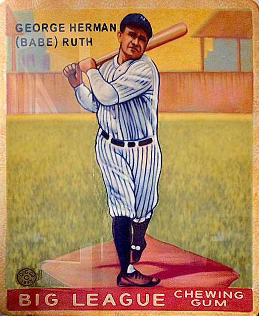 , '1933 Goudey Babe Ruth #144,' 2017, Axiom Contemporary