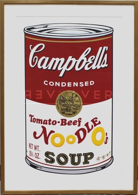 Andy Warhol, 'Campbell's Soup II: Tomato Beef Noodle O's (FS II.61)', 1969, Print, Screenprint on Paper, Revolver Gallery