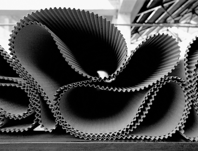 , 'Cartiera Mantovana - Ondaflou, corrugated paper for industrial packaging,' 2004, 29 ARTS IN PROGRESS gallery