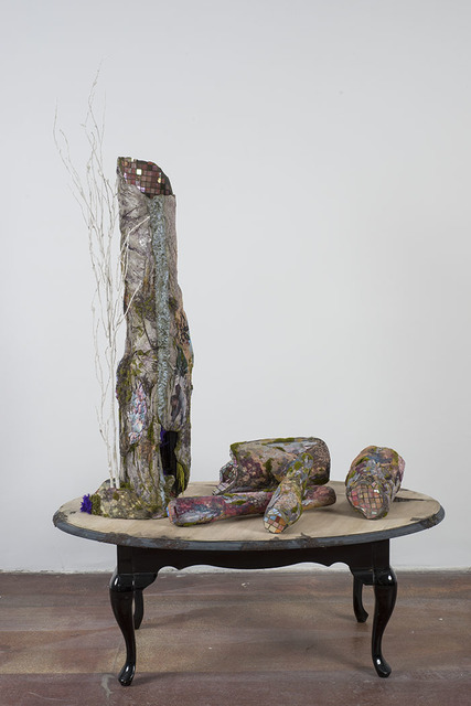 , 'Untitled, Tree and Logs,' 2014, Geary Contemporary