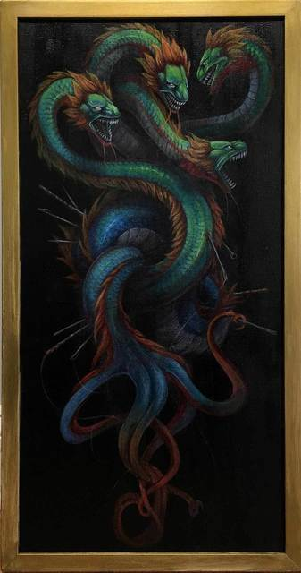 , 'Scylla's Lament,' 2017, Haven Gallery
