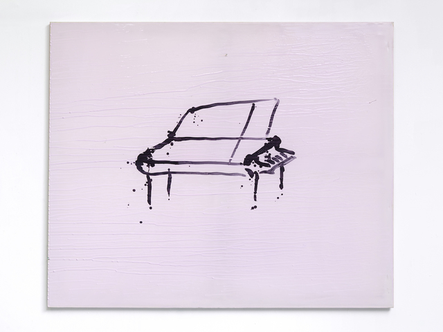 , 'Pink Piano,' 2016, KINMAN