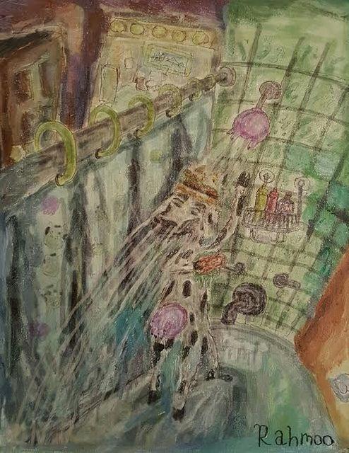 , 'Cow Shower,' 2017, Ro2 Art