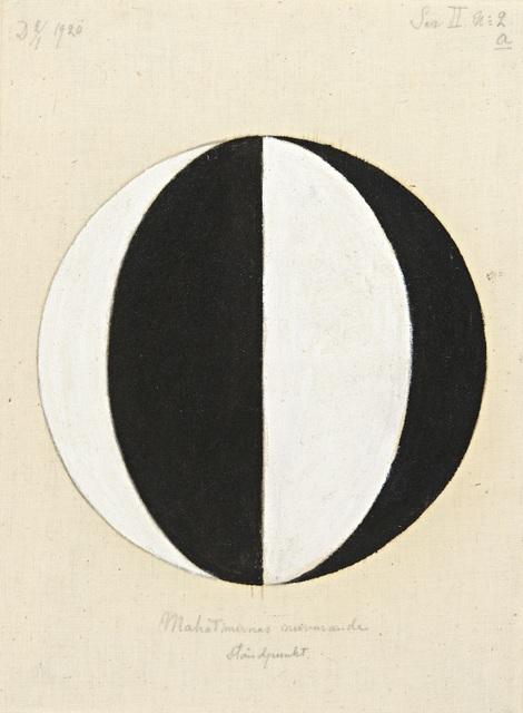 , 'No. 2a, The Current Standpoint of the Mahatmas (Nr 2a, Mahatmernas nuvarande ståndpunkt),  from Series II (Serie II),' 1920, Guggenheim Museum