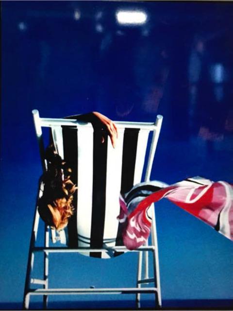 , 'Liegestuhl 2, Claudia Schiffer,' 1991, Bernheimer Fine Art