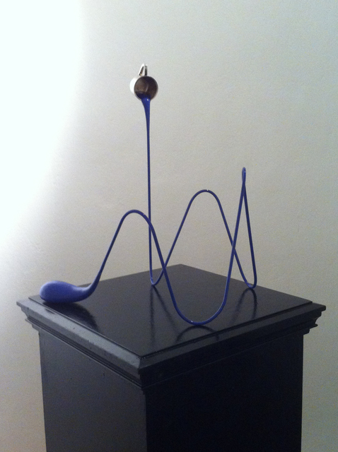 , 'Liquid Drawing (Spezialblau),' 2013, Mario Mauroner Contemporary Art Salzburg-Vienna