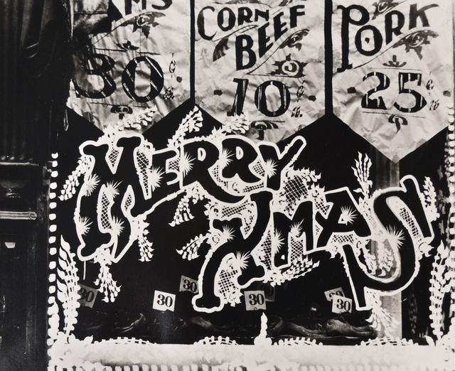 Ralph Steiner, 'Merry X-Mas Window', 1921, Scheinbaum & Russek Ltd.