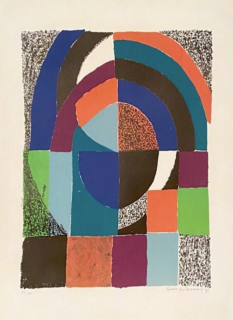 Sonia Delaunay, 'Untitled', 1971, michael lisi / contemporary art