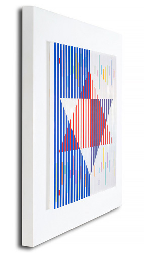 Yaacov Agam, 'Star of David Polymorph', 1983, Corridor Contemporary