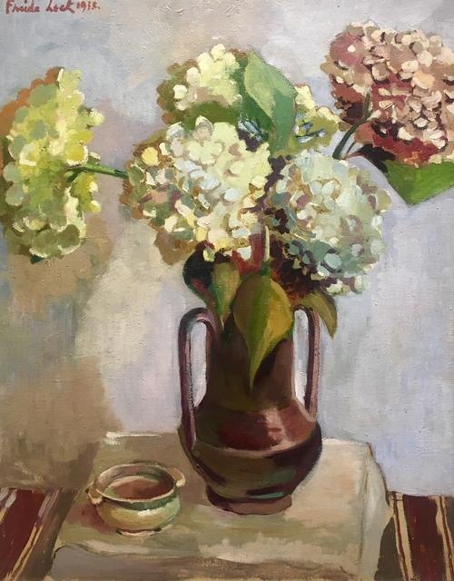 , 'Hydrangeas in a vase,' 1938, Absolut Art Gallery