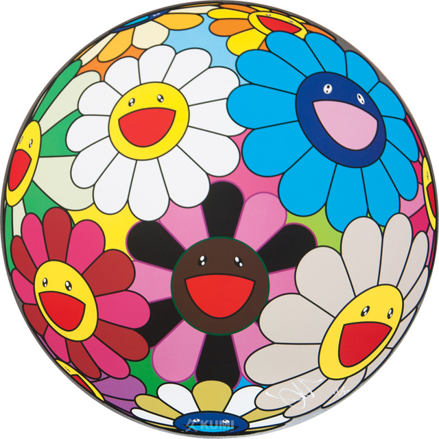 Takashi Murakami, 'Flower Ball (Algae Ball)', 2013, Kumi Contemporary / Verso Contemporary