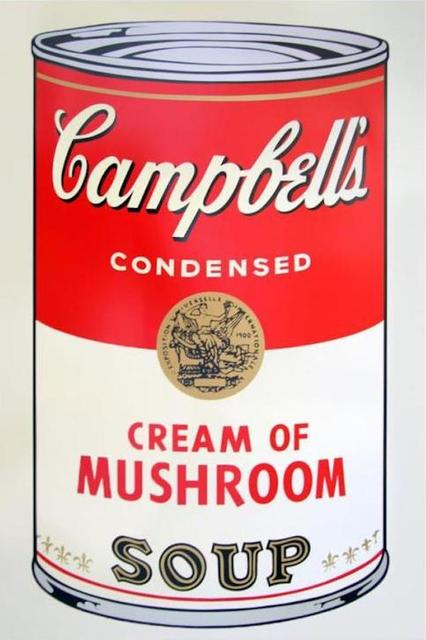 , 'Campbell's Soup Cream of Mushroom,' 1968, OSME Gallery
