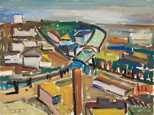Paul-Henri Bourguignon, 'River Landscape', Eisele Fine Art