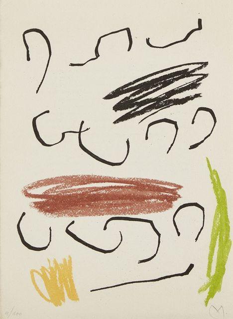 Joan Miró, 'Composition VII, from Recent Unpublished Works (Obra inedita recent) [Cramer 95]', 1964, Roseberys