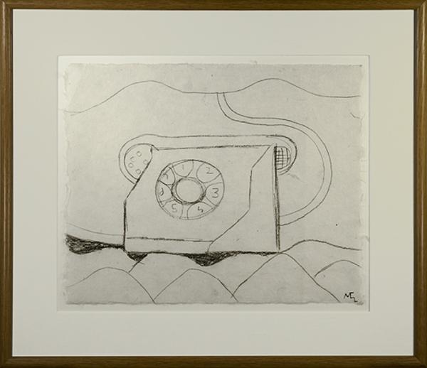 , 'Telephone in Landscape (Teléfono de México),' 1991, David Barnett Gallery