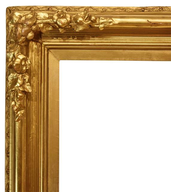 , 'American Giltwood Scoop Frame, circa 1865 (28.5x34),' ca. 1865, Susquehanna Antique Company
